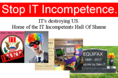 Stop IT Incompetence Masthead, Motto, ITIHOS, Principles, article.